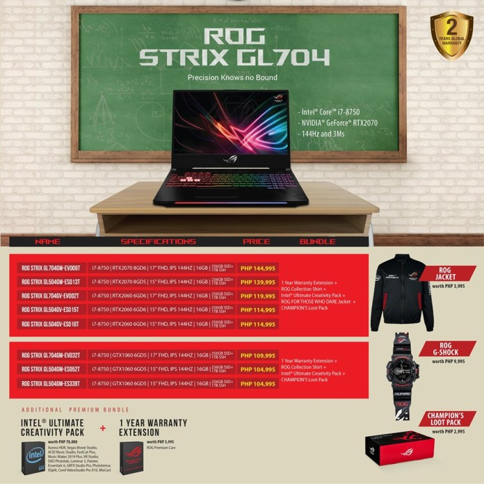 asus back to school promo, ASUS ROG Announces Study On, Game On Back to School Promo!, Gadget Pilipinas, Gadget Pilipinas
