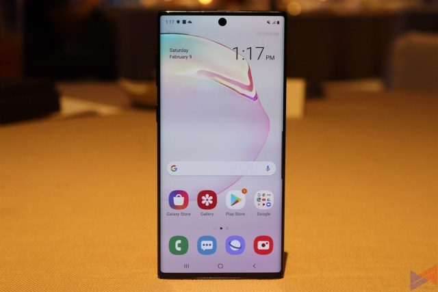 samsung galaxy note 10 vs huawei p30 2