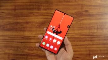 Huawei P30 Pro v Samsung Galaxy Note 10+ 1