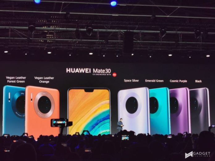 Huawei Mate 30 Series - Colors