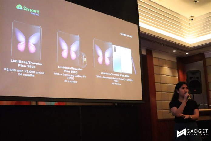 galaxy fold philippines, Samsung Galaxy Fold arrives in the Philippines thru Smart Device Plan L and Smart Infinity Limitless, Gadget Pilipinas, Gadget Pilipinas