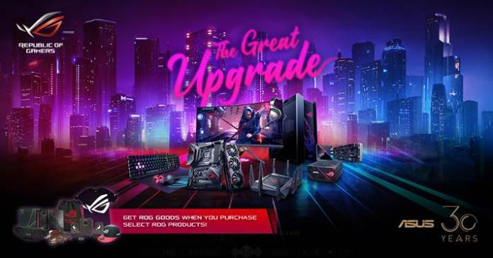 The Great Upgrade - ROG