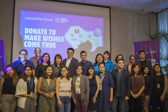 Lazada and Representatives of the 11 Advocacy Partners