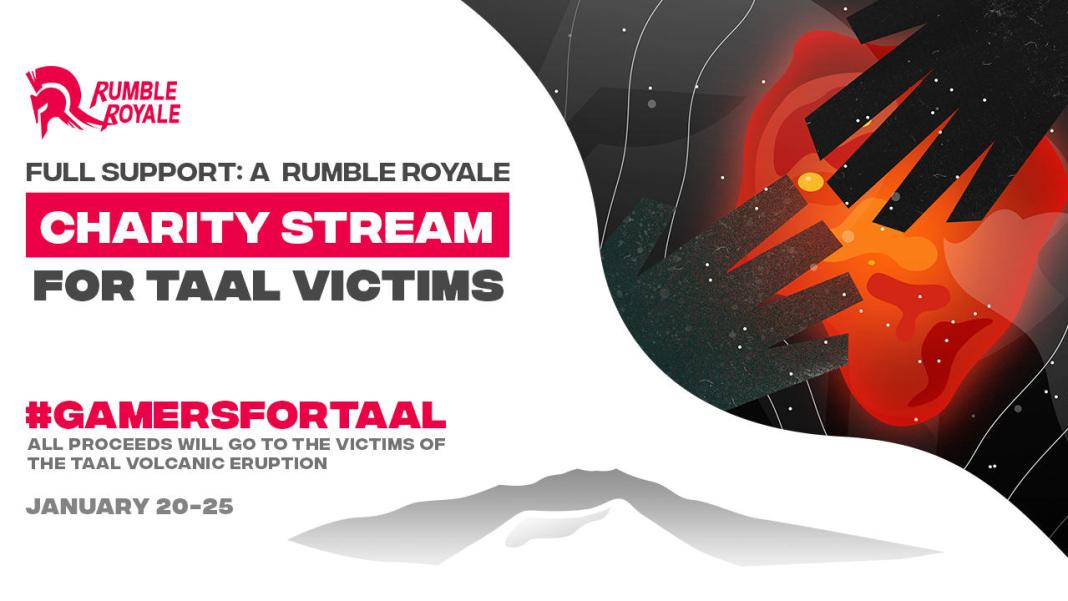 Rumble Royale FULL SUPPORT, Rumble Royale's FULL SUPPORT: A Charity Stream Event Charity Community Day set for Feb 1, Gadget Pilipinas, Gadget Pilipinas