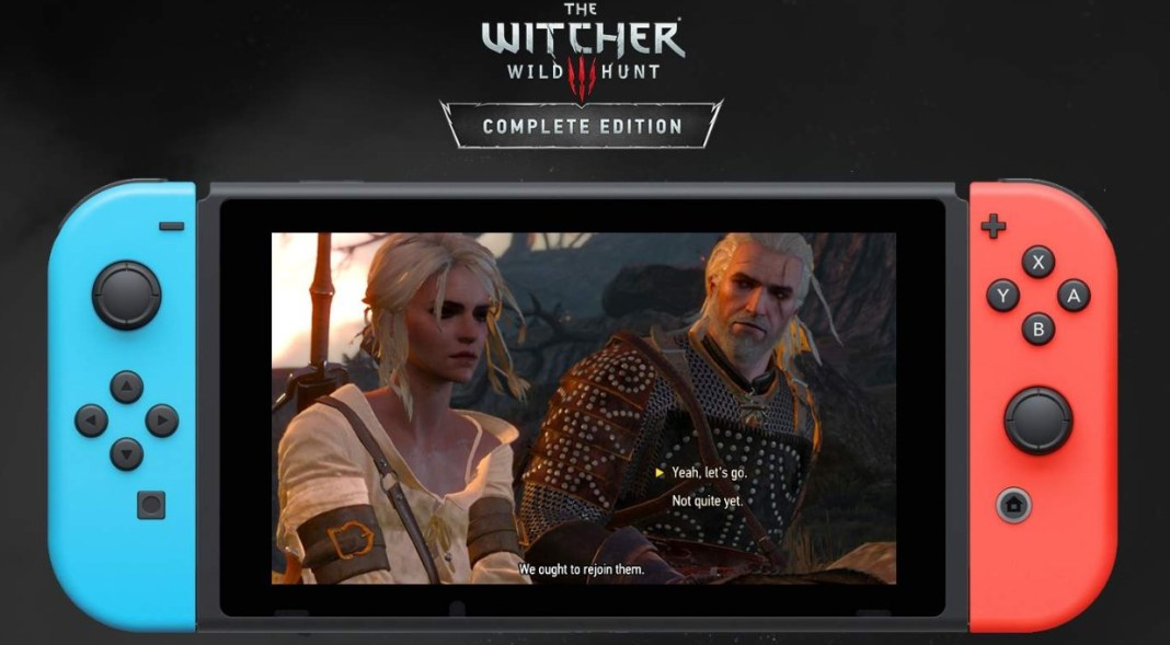 witcher 3 switch cross save pc, The Witcher 3 for the Switch now allows for cross save from PC, Gadget Pilipinas, Gadget Pilipinas