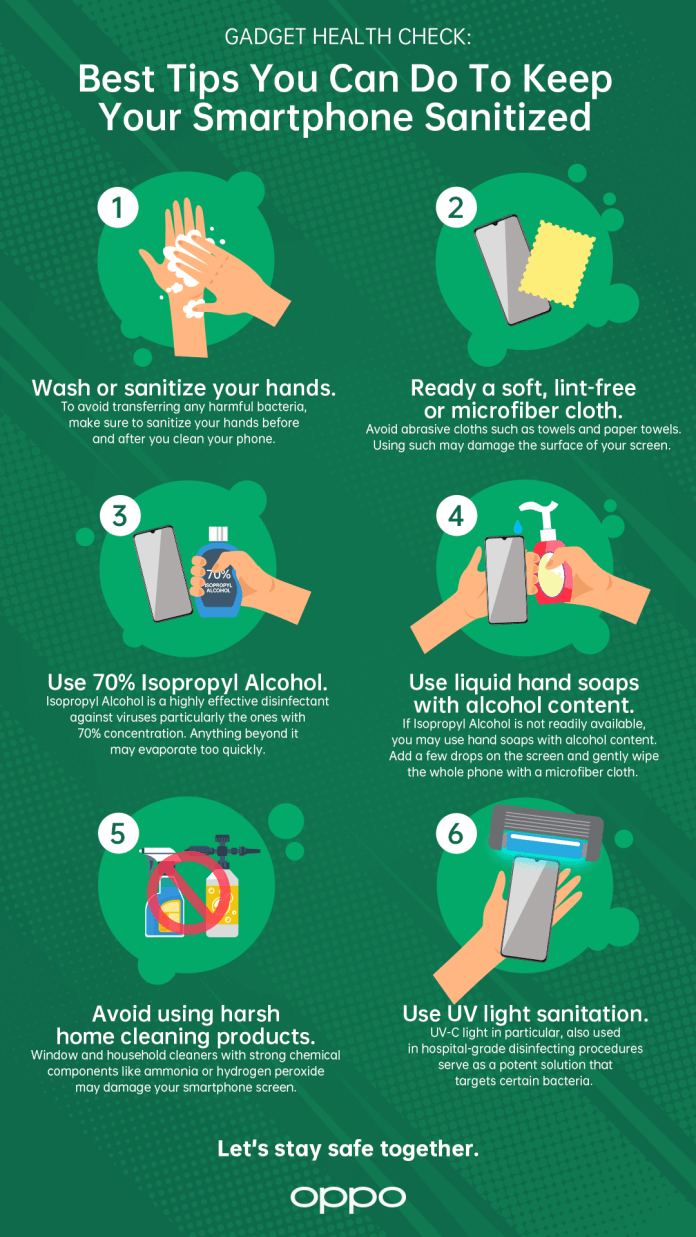 6 tips to keep your phones sanitized - 1