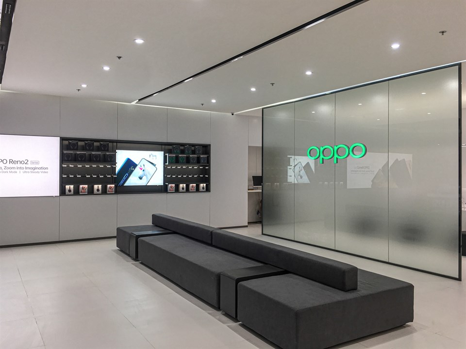 OPPO Experience Store - Waiting Area