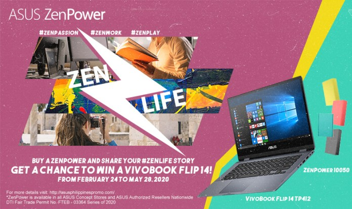 ASUS ZENLife Promo, Share Your #ZENLife Story and Get a Chance to Win an ASUS VivoBook Flip 14!, Gadget Pilipinas, Gadget Pilipinas