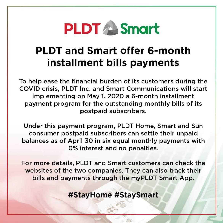 PLDT and Smart - Installment Program (1)