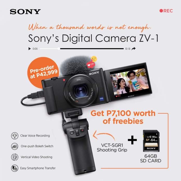 Sony ZV-1 Pre-Order
