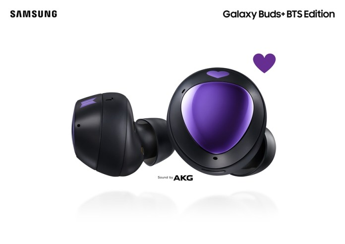 Galaxy Buds+ BTS Edition - 01