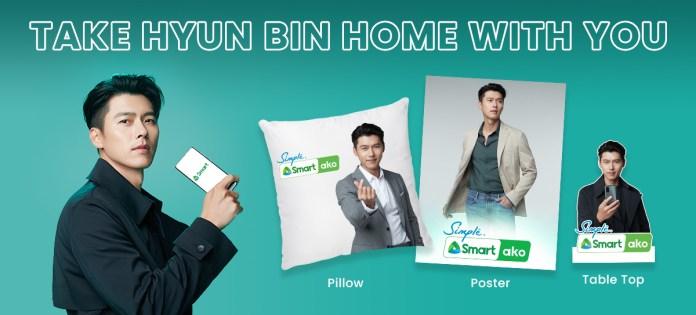 Smart Hyun Bin Merch Promo