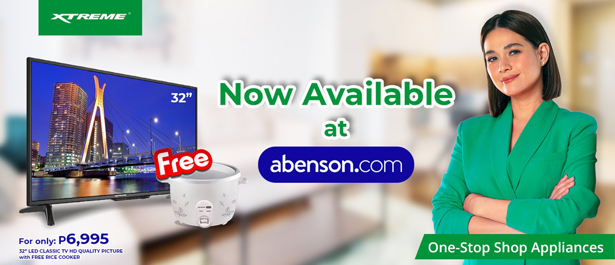 XTREME Appliances is now available on Abenson Online