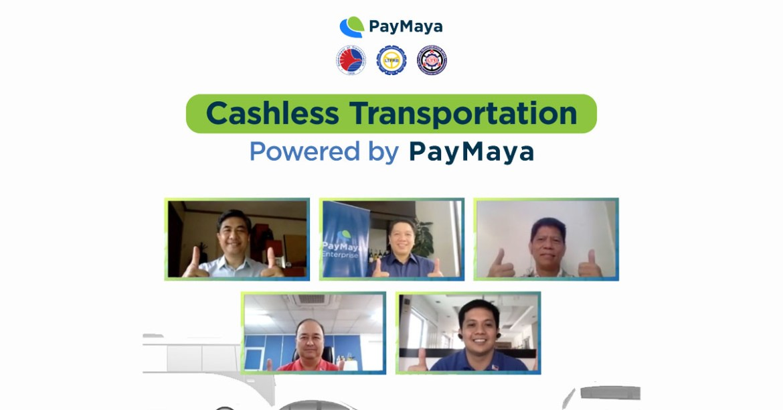 Cashless Transportation Powered by PayMaya
