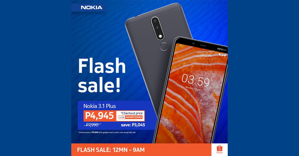 Nokia 3.1 Plus Sale