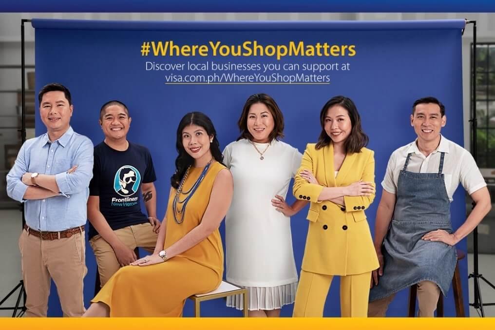 Visa Where You Shop Matters - 1