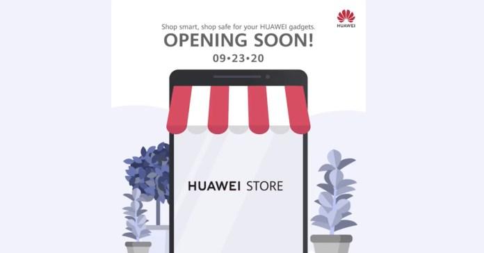 Huawei Online Store Opening