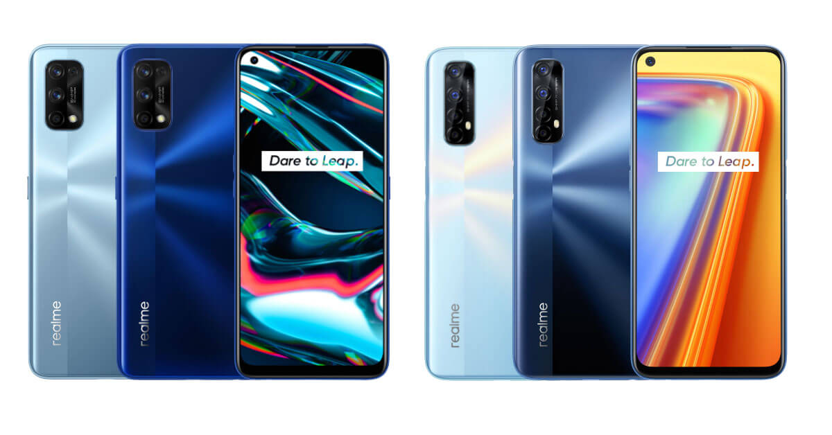 realme 7 Series - All Variants