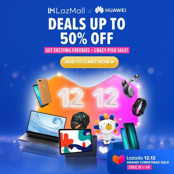 Huawei Shopee 12.12