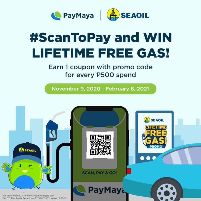 PayMaya x SEAOIL Promo