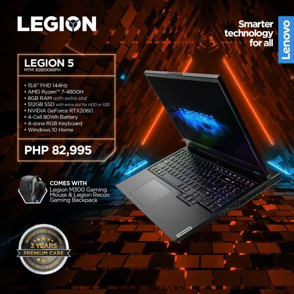 Lenovo Legion 5 AMD PH Price - Legion 5 Philippines Price