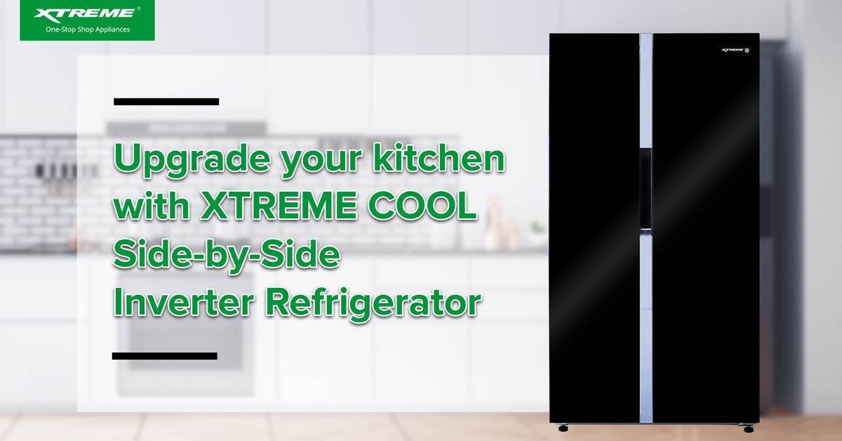 XTREME COOL Side by Side Inverter Refrigerator 1