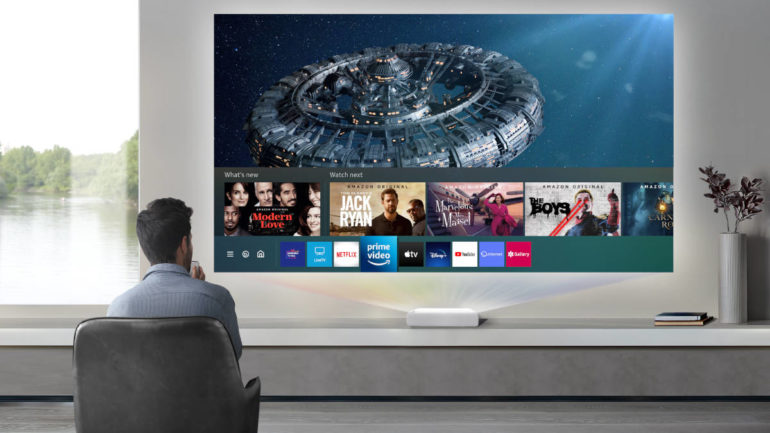 Samsung The Premiere Smart TV experience