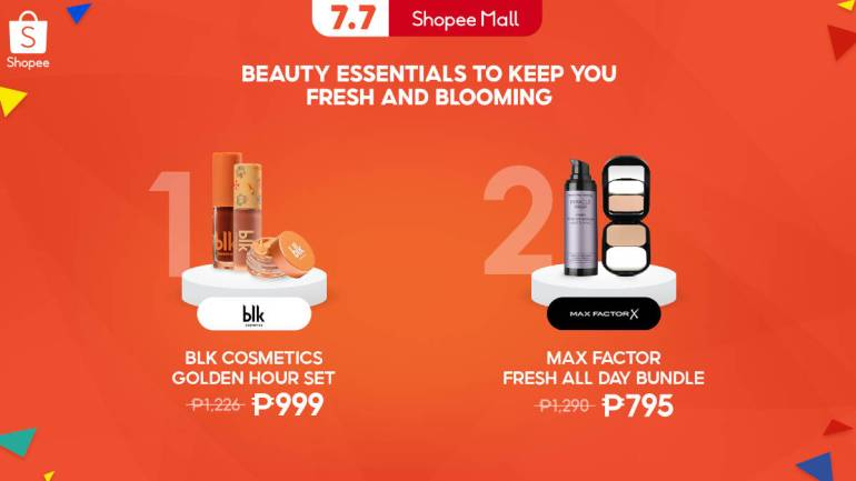 Shopee 7.7 Mid-Year Sale makeup