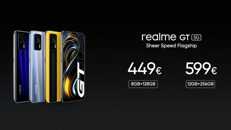 realme GT 5G global launch price