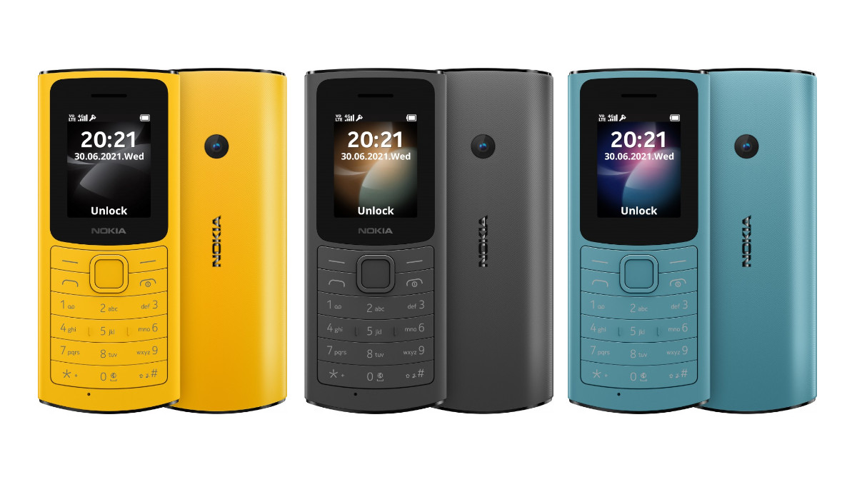 Nokia 110 4G Announced in India with 4G VoLTE Support
