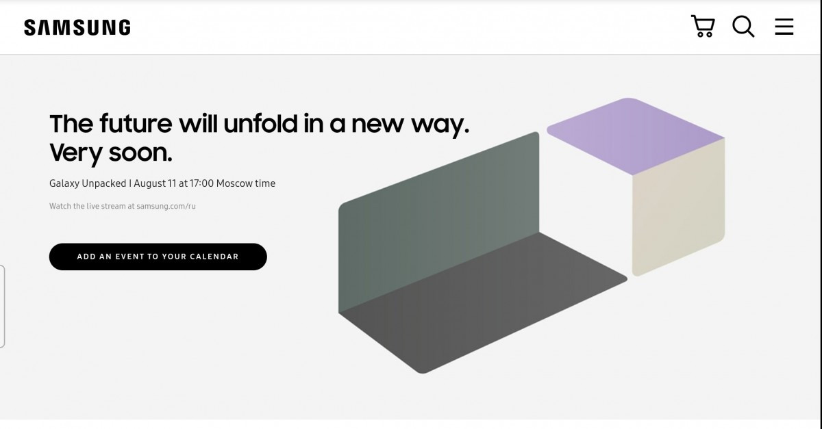 Samsung Galaxy Unpacked Event 'Accidentally' Confirmed