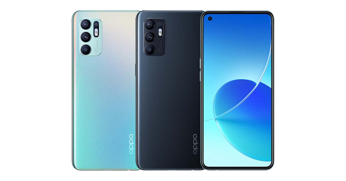 OPPO Reno6 4G with Snapdragon 720G Now Official