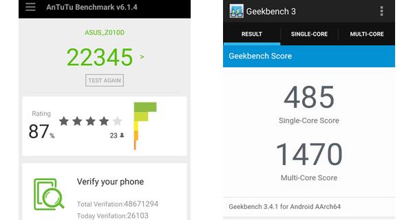 ASUS Zenfone Max Performance AnTuTu Geekbench - Review Smartphone Raja Yang Bertenaga, Asus Zenfone Max