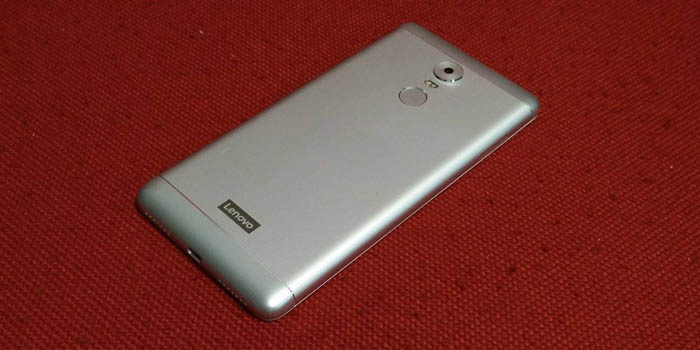 Lenovo K6 Note Back