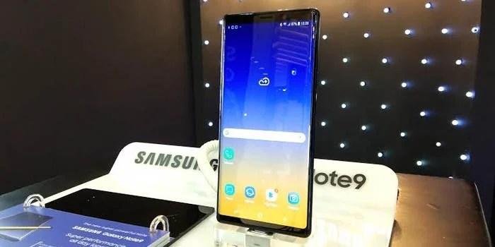 Samsung Galaxy Note 9 Exhibit