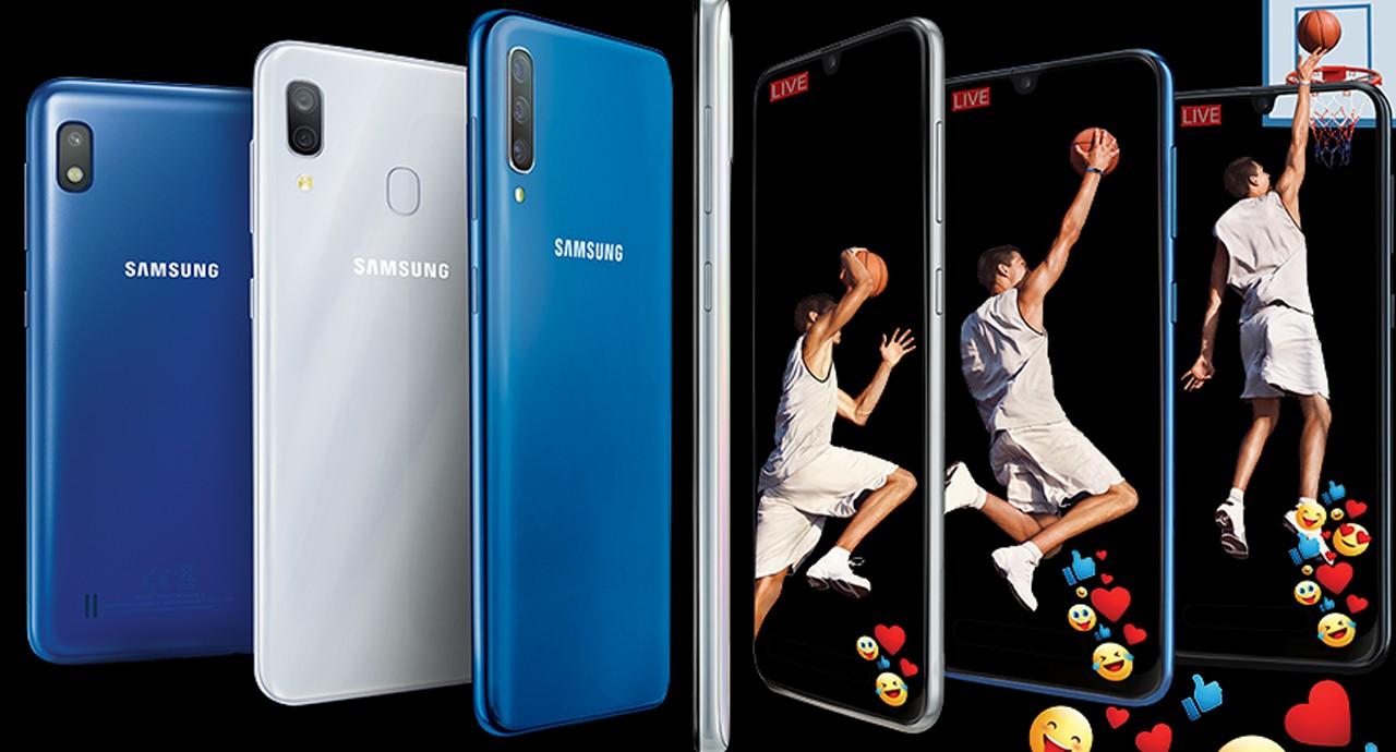 How to Screenshot the Samsung Galaxy A10 Header