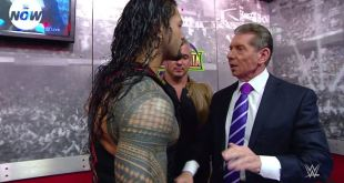 Roman Reigns took his issues with Brock Lesnar straight to the top... but was it...