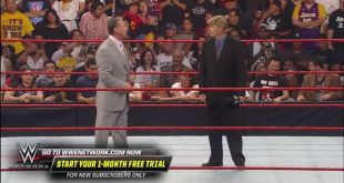Mr. McMahon had a message to send on WWE Raw ON THIS DAY in 2009!