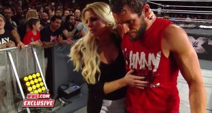 EXCLUSIVE: Candice LeRae comes to the aid of Johnny Gargano following the BRUTAL…
