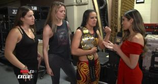 "EXCLUSIVE: Shayna ""The Queen of Spades"" Baszler exudes confidence as she explain…"