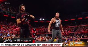Seth Rollins has arrived on WWE Raw and decided he wants a LUNATIC in his corner...