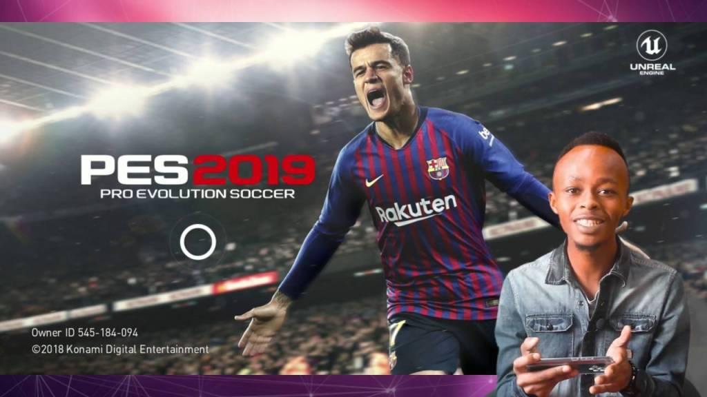 Playing the PES 2020 Mobile Game on Android