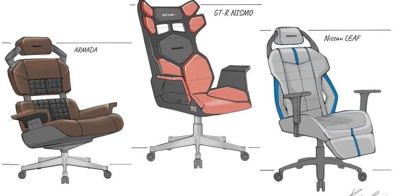 nissan gaming chairs