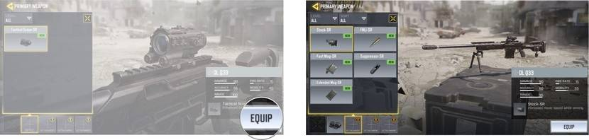 CoD weapons