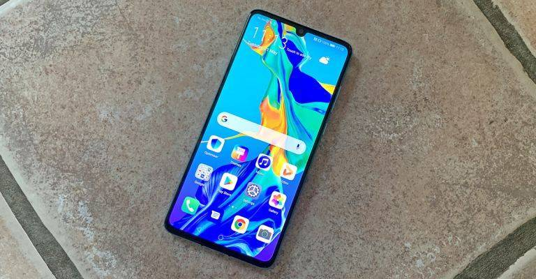 Huawei P30 lite Android 10
