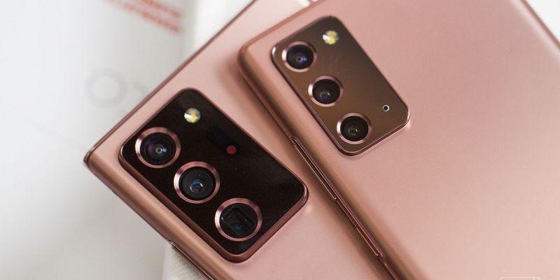 Samsung Galaxy Note 20-smartphones