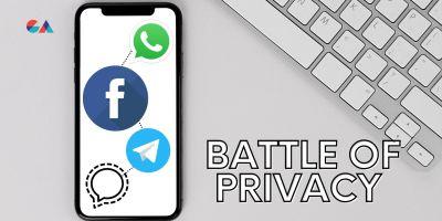 WhatsApp vs Signal vs Telegram vs Facebook