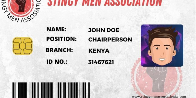 Stingy Men Association Card