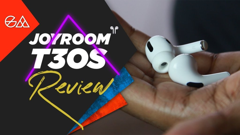 Joyroom T03S Review- Best Airpods Knockoffs?
