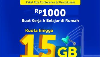 Paket Xtra Edukasi dan Conference XL